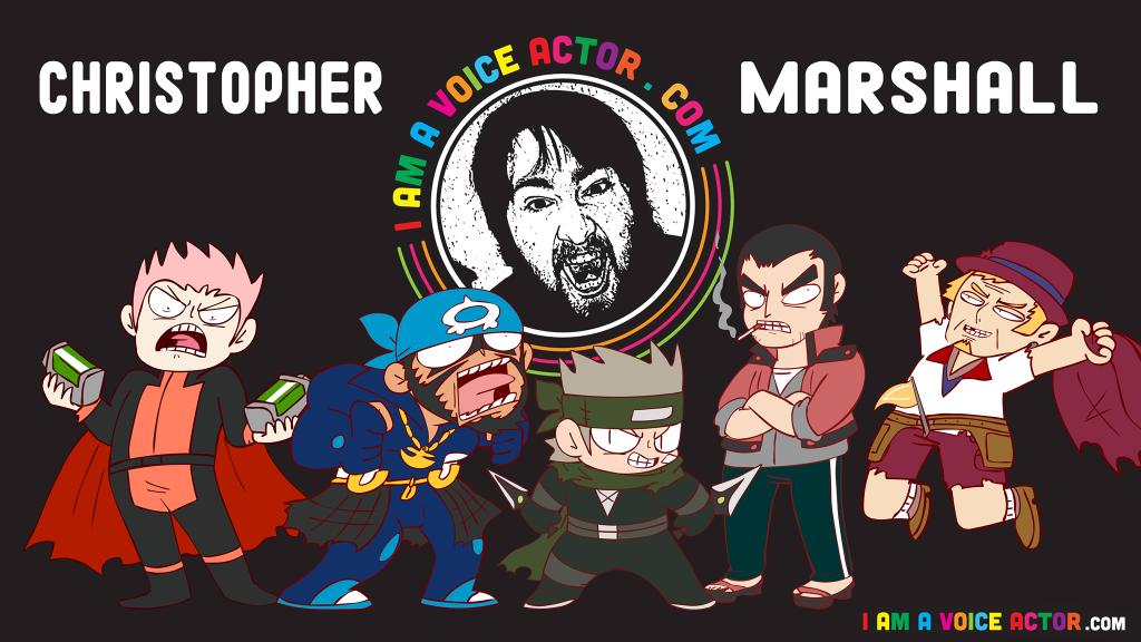 Christopher Marshall Character image.